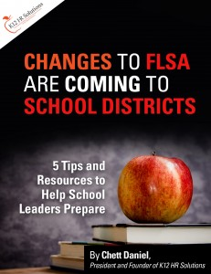 New FLSA Update for School Districts