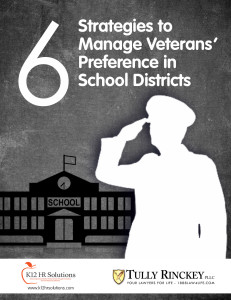 What District Leaders Should Know About Veterans' Preference in School Districts