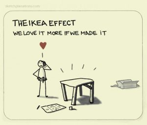 How to motivate teachers using the IKEA Effect